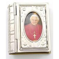 Buy cheap Keepsake Box , Silver with image of Pope Benedict from wholesalers