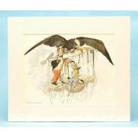 Buy cheap Florence Upton Airship Golliwog Original Print 1902 from wholesalers