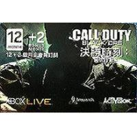 XBOX360 Live 12+2 Month COD Blk OPS Card Manufactures