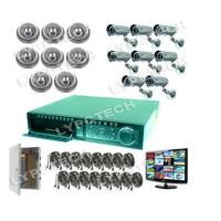 Buy cheap 16CH D1 DVR HD Display Security 16 Camera Network System 1TB HDD from wholesalers