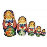 Snowmaiden with animals Babushka Nesting Dolls Manufactures