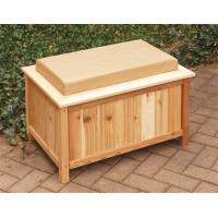 Wholesale Cedar Outdoor Storage Bench w/ LinerItem #: 25237 from china suppliers