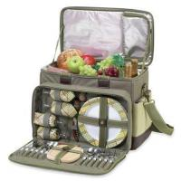 Buy cheap Hamptons Deluxe Picnic Cooler for Four in Olive TweedItem #: 176343 from wholesalers