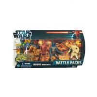 Buy cheap Star Wars 2012 Battle Packs Episode II Attack of the Clones Obi Jango BD Action Figure Battle Pack from wholesalers