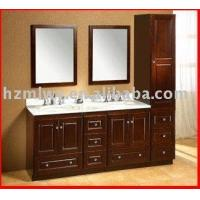Buy cheap double wash basin cabinet(ML-0307) from wholesalers