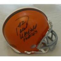 Buy cheap Paul Warfield Autographed Cleveland Browns Mini Helmet from wholesalers