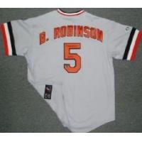Buy cheap Brooks Robinson Signed Orioles Cooperstown Collection Majestic Jersey w/HOF'83 inscription from wholesalers
