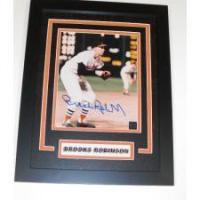 Buy cheap Brooks Robinson Autographed Baltimore Orioles 8x10 Photo ~ 1983 Hall of Fame ~ Custom Framed from wholesalers