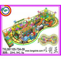 Buy cheap Indoor castle with electrical toy train around from wholesalers