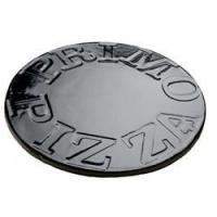 China GLAZED Pizza Baking Stone for the Primo Grill Oval XL or Kamado on sale
