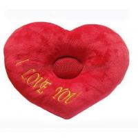 Buy cheap I LOVE YOU Heart Shaped MP3 Speaker Nap Pillow (No battery) -10pcs/lot from wholesalers