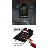 Buy cheap LED Writing Board with Suction Mount from wholesalers