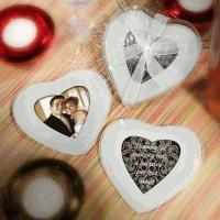 Buy cheap Heart Shaped Photo Glass Coaster (Set of 2) from wholesalers
