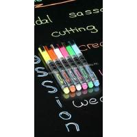 Buy cheap Cork Board Accessories Include 6 Pen-Point Neon Liquid Chalk Markers from wholesalers
