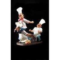 Buy cheap Three Chef Wine Bottle Holder Home Decor from wholesalers