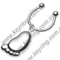 Buy cheap Foot Shape Keyrings, Foot Keyrings, Foot Metal Keyrings from wholesalers