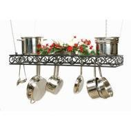 Buy cheap Hanging Rectangular Scroll Cookware Pot Rack pc Amish Made from wholesalers