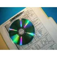 Buy cheap CD 1006 Small CD Storage Inserts -Single Sided (FREE Sample) from wholesalers