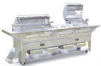 Buy cheap 124 Natural Gas Grill Cart with 2 pair Four Broiler Burner, and 1 Three Broiler Burner by Lazy Man from wholesalers