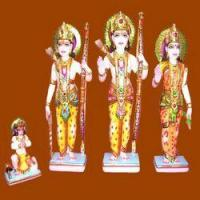 Wholesale Marble Ram Lakshman Sita Statue from china suppliers