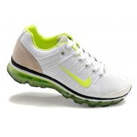 Buy cheap Nike Air Max Mens 2009 Shoes - Apple Green/White/Black Leather from wholesalers
