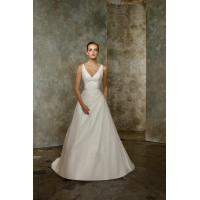 V Neck Pleated Taffeta Beading Sexy Bridal Gowns 2012 Sale Manufactures