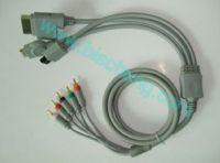 China PS3, XBOX 360, Wii, PS2 4 In 1 Component Cable on sale