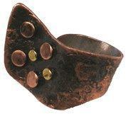 Buy cheap Asymmetrical Copper and Bronze Ring - Chile from wholesalers