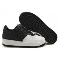 Buy cheap Men's Nike Air Force Ones 2011 Black/White/C from wholesalers