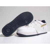 Buy cheap Mens Nike Air Force 1 Classic Low White Gold Shoes from wholesalers