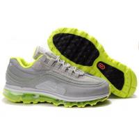 Wholesale Men Nike Air Max 24-7 Air Attack Pack Metallic Silver Green from china suppliers