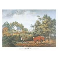 American Farm Scenes - Currier and Ives Manufactures