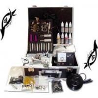 Wholesale New Tattoo Kit 6 Guns Machine Power Tube Needles Ink from china suppliers