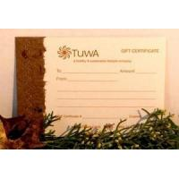 Buy cheap Paper Gift Certificate - $20 (*see special instructions) from wholesalers