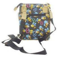 Buy cheap Bumble Bee Messenger Tote (Black) from wholesalers