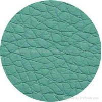 Wholesale color cards of the leather(PU or PVC) dark green PU, PVC from china suppliers