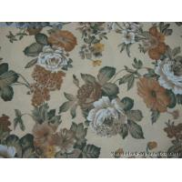 Buy cheap FLORAL PRINTING FABRIC FOR DECORATIONS Floral printing fabric from wholesalers