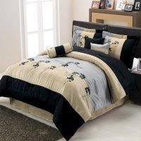 Buy cheap Lama Floral Luxury 7-Piece comforter set from wholesalers