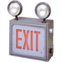 Buy cheap Class 1 & 2 Division 2 LED Combo Direct View Exit Sign with Emergency Lights from wholesalers