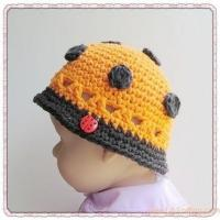 Buy cheap PATTERN  Crocheted Custom Ladybug Cloche Hat from wholesalers