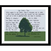 Buy cheap Family Tree Poem Print Size 8x10 from wholesalers