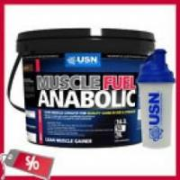 Buy cheap USN Muscle Fuel Anabolic All in One 4kg 4000g + SHAKER from wholesalers