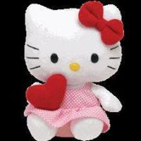 Buy cheap Ty Beanie Babies 8 Hello Kitty Red Heart from wholesalers