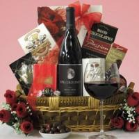 Buy cheap Spellbound Petite Sirah: Romance or Anniversary Wine Gift Basket from wholesalers