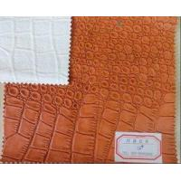Buy cheap 0.7mm Thickness PU Coated Leather with Genuine Leather Handfeeling and Abrasion Resistant from wholesalers