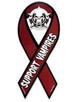 Support Vampires Support Ribbon Magnet Manufactures