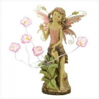 Buy cheap Peony Fairy Solar Statue from wholesalers
