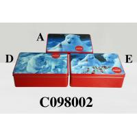 Wholesale Coca-Cola Polar Bear 20.2cm x 13.2cm x 9.7cm Rectangle Tin Box from china suppliers