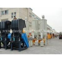 100 - 300 KW Washing and remover PET bottle label Waste Plastic Recycling Machines Manufactures