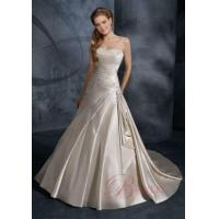 Buy cheap Cheap Wedding Dresses Online Ball Gown Strapless Embroidery Satin Lace IN5829 from wholesalers